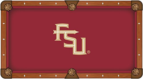 Holland Bar Stool Co. Florida State Seminoles HBS Red with FSU Logo Billiard Pool Table Cloth (8')