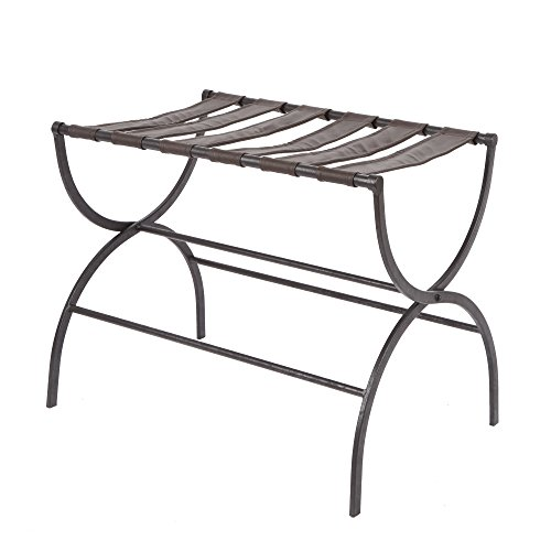 Silverwood Julian Metal Folding Luggage Rack with Contour Legs (Tables Folding Contour)