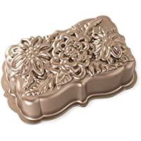 Nordic Ware 93148 Wildflower Loaf Pan, One Size, Copper(pack of 2)