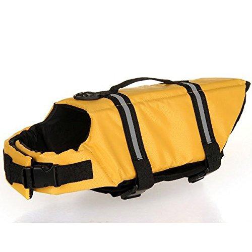 Yocitoy Schwimmweste Floss Jacket Rettungsweste Erhalter fuer Hund Haustier von Groesse XL