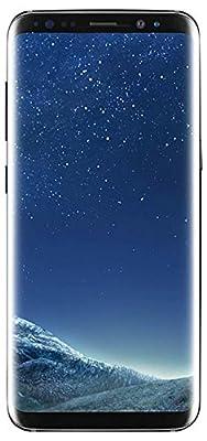 Samsung Galaxy S8 Plus Unlocked 64GB (Midnight Black) - (Certified Refurbished)