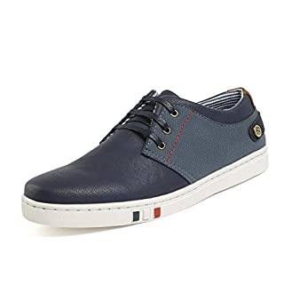 Bruno Marc Men's NY-03 Navy Fashion Oxfords Sneakers Business Classic Casual Dress Shoes Size 13 M US