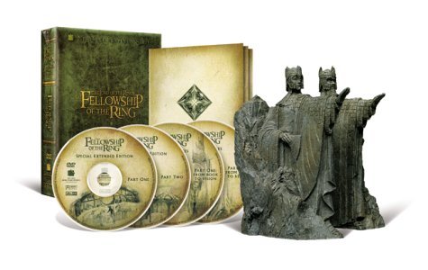 The Lord of the Rings - The Fellowship of the Ring (Platinum Series Special Extended Edition Collector's Gift Set) by New Line Home Video