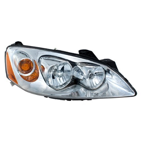 Vision Automotive PT10086A1R Head Light Lamp Assembly 05-09 Pontiac G6 Right R/H Coupe Convertible Sedan New GM2503255 (2006 Coupe Pontiac G6)