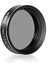 Neewer® Telescopisch oculair maanfilter (1,25 inch), neutrale dichtheid 13 procent, zwart