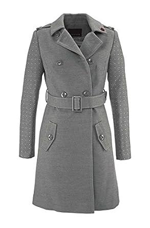 Kurzmantel Mantel Damen von Melrose in Grau Melange - Gr. 34