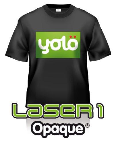 10 x, formato A3, fogli Laser 1 opaca Laser ® Carta per trasferimento immagini su maglietta di calore e trasferimenti Neenah L1A3 10