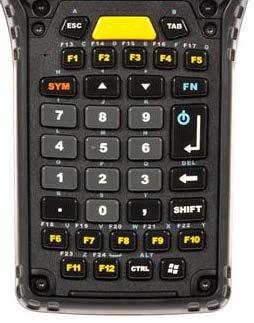 Zebra ST5012 teclado para móvil Negro - Teclados para móviles ...