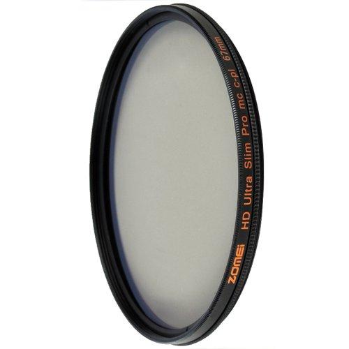 67mm Slim CPL Circular Polarizing Filter - 3