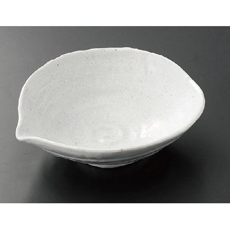 おとうさん小学生電気的白吹き天目 片口煮物鉢 AM-YK066