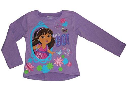 Girls 2t 4t Dora - Nickelodeon Dora and Friends Girls New 2014 T-shirt 2T-4T (4T)
