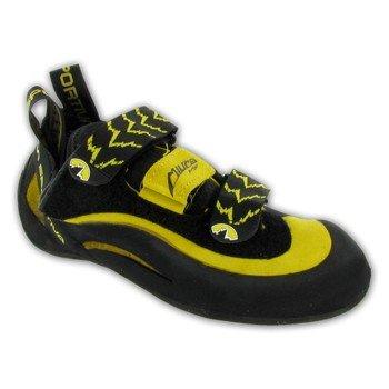 La Sportiva Men's Miura VS Rock Climbing Shoes Black/Yellow - 38 by La Sportiva