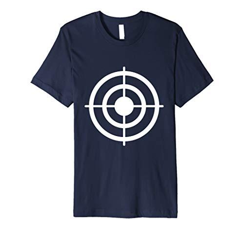 Funny Bullseye Paper Target Halloween Costume T-Shirt -