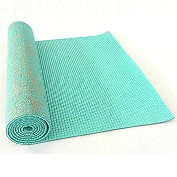 BAGBOXB Estera Antideslizante de Yute PVC Estera de Yoga ...