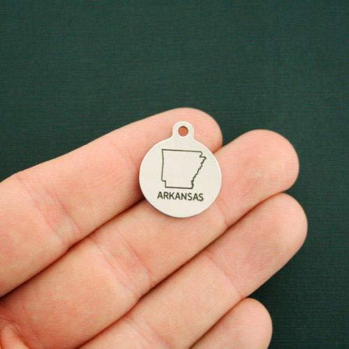 (Charm - Jewelry - Pendant - Arkansas State)