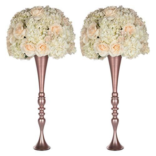 Amazon Com Amalfi Decor 2 Piece Tall Wedding Centerpiece Metal