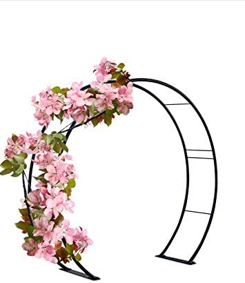 Kinsman 81 H x 87 W Moon Gate Circle Garden and Wedding Arch