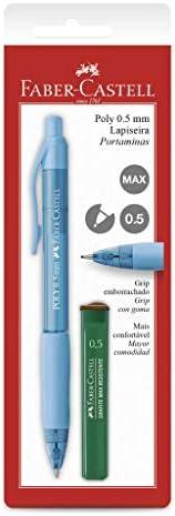 Lapiseira 0.5mm + Grafite, Faber-Castell, Poly, SM/05POLYM, Cores Sortidas