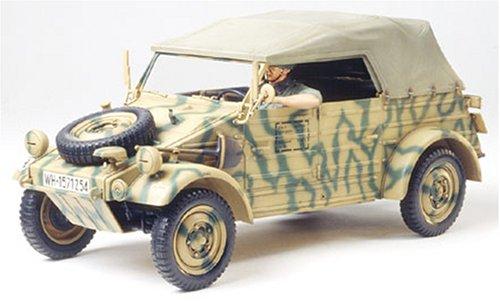 #36205 Tamiya German Kubelwagen Type 82 European Campaign 1/35th Scale Plastic Model Kit,Needs ()