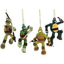 TMNT Ninja Turtles Kurt Adler Ornament Set Gift Boxed