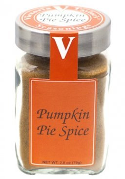 Pumpkin Pie Spice 2.8 Oz Jar - Victoria Gourmet - Fat Free, 15 Cal, per serving - All Natural Pumpkin Seasoning - Use to Make Pumpkin Spice Lattes, Pumpkin Spice - Pumpkin Cheesecake Jar