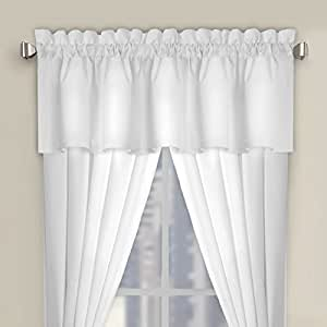 Luxury Microfiber Tailored Valance Window Valance Perfect Curtain Valances For