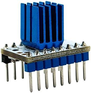 SODIAL TMC2208 V1.0 Conductor mudo motor paso a paso silenciosa ...
