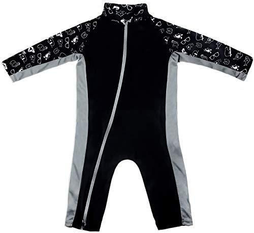 - Stonz Premium Rash Guard Rashguard Sun Suit for Active Baby Boy Girl Long Sleeve UPF 50+ Swim Suit Top Sun Protection for Beach Pool Play, Stonz Print 3T