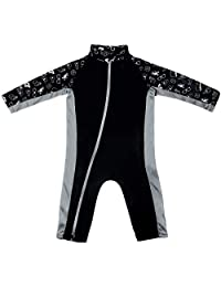 Stonz Premium Rash Guard Sunsuit for Baby Girl or Boy with UPF 50+ Sun Protection Beach Pool
