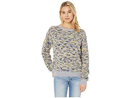 - CeCe Women's Long Sleeve Pullover Boucle Sweater Confetti Pink Medium