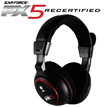ba901ea6ac0 Amazon.com: Ear Force PX5 Programmable Wireless 7.1 Dolby Digital Surround  Sound Headset with Bluetooth: Video Games