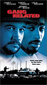 Amazon.com: Gang Related [VHS]: Jim Belushi, Tupac Shakur