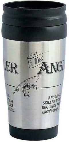 Ultimate Gift For Man 8843 Angler Fishing Travel Mug