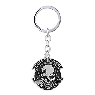 Amazon.com: Metal Gear Solid Keychain Outer Heaven Keychain ...