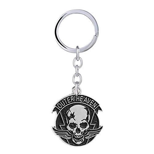 DADATU Llavero Metal Gear Solid Keychain Outer Heaven ...