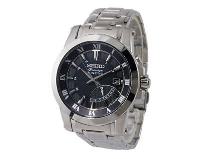 Seiko Seiko SRN039P1 SRN039P1 - Reloj, correa de acero inoxidable: Amazon.es: Relojes