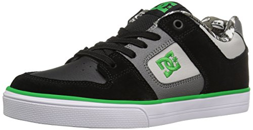 Dc Kids Pure Elastic Black / Gray / Green
