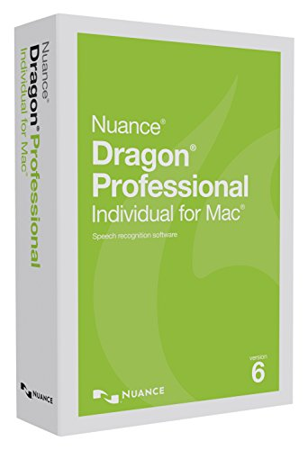 Dragon Professional Individual for Mac 6.0, (Communication Software)
