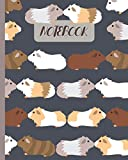 Notebook: Cute Guinea Pigs Kissing - Lined