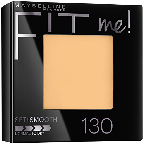Maybelline New York Fit Me! Powder, 130 Buff Beige, 0.3 Ounce
