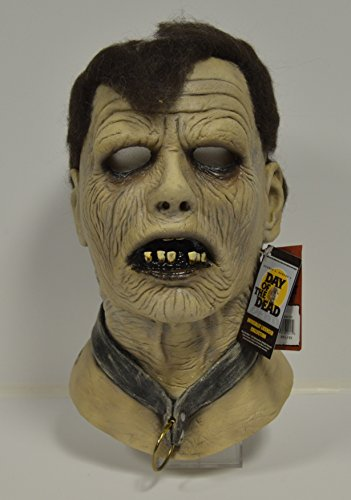 George Romero's Day of the Dead 'BUB' Zombie Mask signed by the King of Horror himself GEORGE A. ROMERO