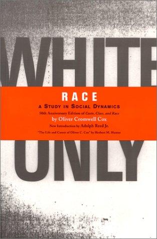 Race: A Study in Social Dynamics PDF