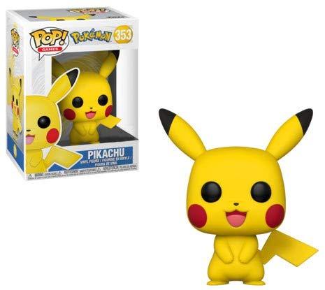 Funko Pop Pokemon Pikachu Exclusive Vinyl Figure ,Multi-colored  from Funko