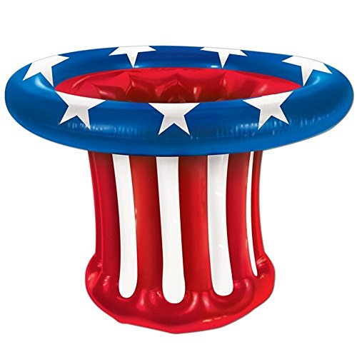 Lets Party By Beistle Company Inflatable Patriotic Hat