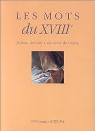 Les mots du XVIIième siecle par Jérôme Godeau