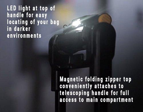 DEWALT DGL571 Lighted Roller Tool Bag, 18 in. by DEWALT (Image #4)