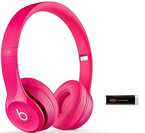 Beats by Dr. Dre Solo 2.0 Pink On-Ear Headphones Travel