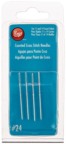 Boye Cross Stitch Hand Needles-Size 24 4/Pkg (3507503000M)