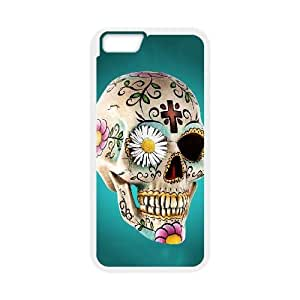iphone6 4.7 inch Case (TPU),iphone6 4.7 inch Cell phone case White for Skull Mexico - KKHG5343042
