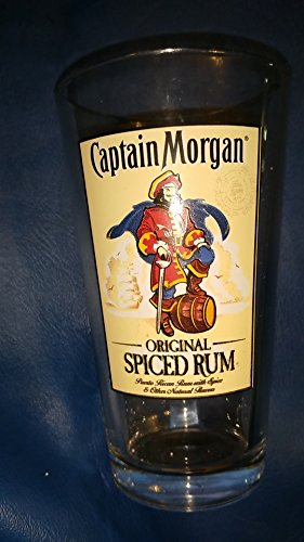 - Captain Morgan Original Spiced Rum Puerto Rican Rum with Spice 16 oz clear glass